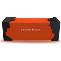 Portable USB Powered Mini Wireless Bluetooth NFC Subwoofer Speakers with Microphone / Handsfree music speaker - Orange + Black