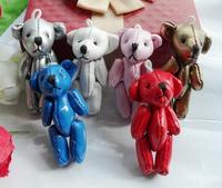 Cortical joint bear doll accessories   Teddy Bear DOLL ; Plush Stuffed TOY DOLL ; Wedding Gift & Bouquet Decor TOY DOLL