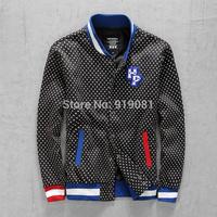 Hipanda panda wave point Autumn outfit sweethearts jacket lovely Baseball uniform for men and women