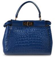 Genuine Leather Women Handbag Luxury Women Handbag Fashionable Alligotor Women Bag Cow Leather Bolsas Women Messenger Bags