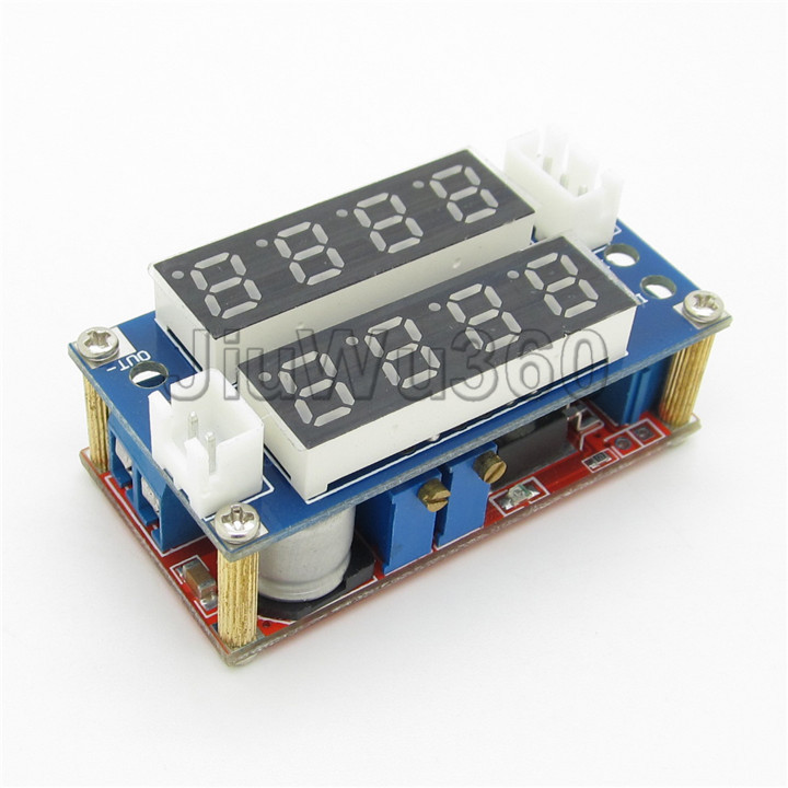 5-30V (0A-5A) Current Voltage Step Down Charge Module LED Display Meter(China (Mainland))