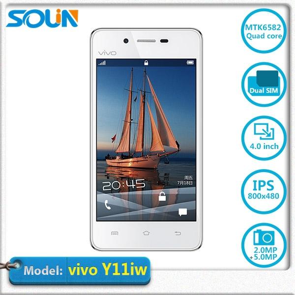 Hot selling Original Vivo Y11iw Android OS V4 1 2 MTK6582M 4inch quad core dual sim