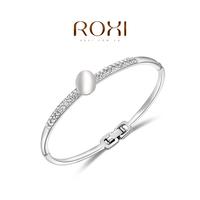 Wholesale ROXI Fashion Accessorie Jewelry CZ Diamond Clear Austria Crystal with SWA Element Charming Opal Bracelet for Women