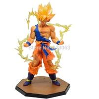 Factory Price Anime Dragon Ball Z Super Saiyan Goku Boxed Gift Action Toy Figures Model Collection