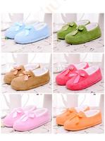 free shipping winter short plush slippers,Covered cotton slippers ,lovers cotton-padded slippers,women &men indoor slippers