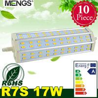MENGS 10pcs per pack R7s J189 17W LED Dimmable Flood Light 60x 5730 SMD LEDs LED Lamp Bulb in Warm/Cool White Energy-saving Lamp