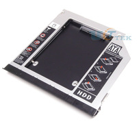 With Ejector SATA 2nd HDD Hard Drive Caddy For Dell Latitude E Series E6420 E6520 E6320 E6430 E6530 9.5mm Optical Module Bay