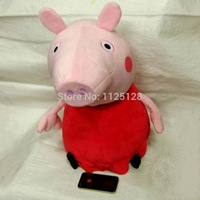 Big size 62cm big size Peppa pig and Gorge pig plush toy Best Gift For Kids brinquedos Free shipping