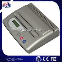 Profession Silver Brand Original USB Tattoo Thermal Transfer Copier Printer Stencil Machine use A4 transfer paper Free Shipping