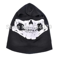 Outdoor Tactical Games small Ghost Pattern Cotton Full Face Mask