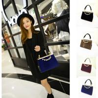 2014 High Quality Pearl Fur Bag Women Leather Handbag Lady Chain Clutch Bag Women Messenger Bags Bolsas Femininas 1896