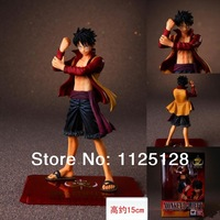 Free shipping Surrounding animation the film version of One Piece figure Luffy boxed Anime Figure Toys Doll