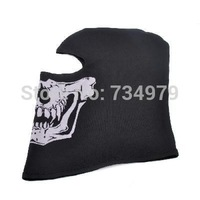 Outdoor Tactical Games big Ghost Pattern Cotton Full Face Mask