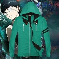 Anime Tokyo Ghoul Kaneki Ken Unisex Hooded Sweatshirt Cosplay Costume Hoodie Halloween gift