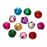 Copper Charm Pendants Christmas Ornament Bell Mixed 8.0mm x 8.0mm, 100 PCs (B44175)