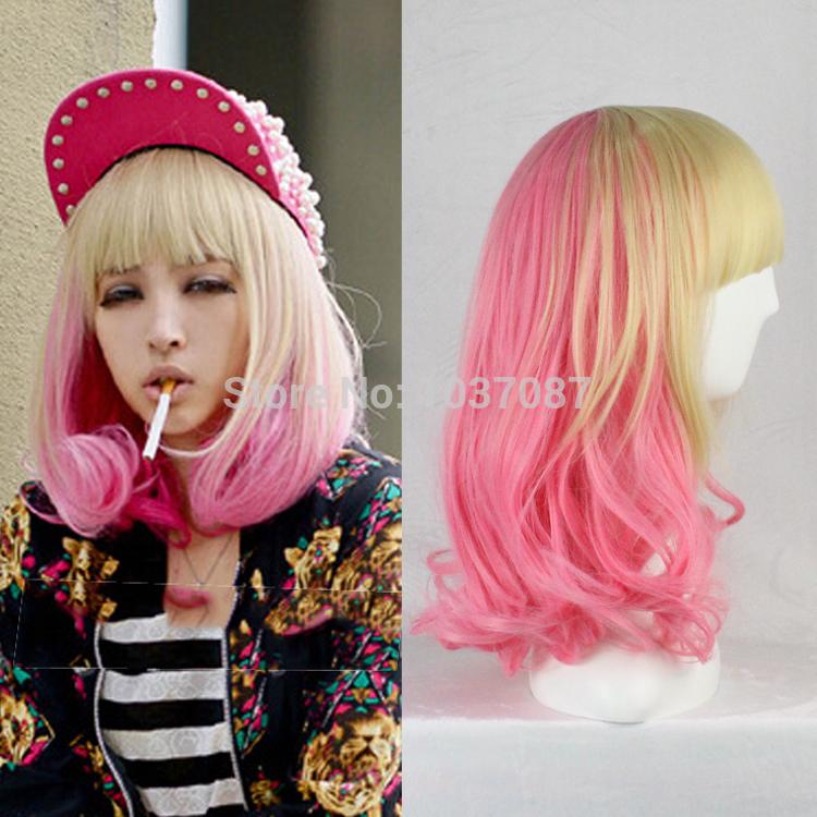 Pink Wigs Halloween Costume Wigs Halloween Costume