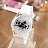 Last Moment  Original PU Leather Strap Fashion Women and men Watches,relogio feminino Ladies' Dress Quartz Watch for Women