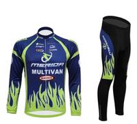 2014 New Men's Cycling Jersey MERIDA Sports Road Long Sleeve Clothing Bicycle Ciclismo Bike Shirts Bib Pants
