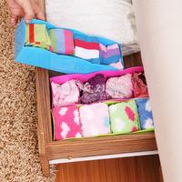 5Colors Home Multifuncional Plastic Organizer case Desktop Items, drawer box desktop storage box case for socks underwear