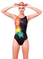 YINGFA Womens girls professional Racing Training Swimsuit Swimwear 993
