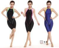 Yingfa 2014 new competition swimwear one piece competitive waterproof chlorine resistant women's racing swimwear 943
