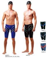 Yingfa 9402 FINA approval Sharkskin chlorine resistant men training swimming trunks Jammers shorts men swimwear tight pants