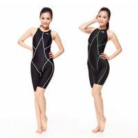 Yingfa 937 FINA Approved same as Speedo swimwear one piece competitive waterproof chlorine resistant women's swimwear