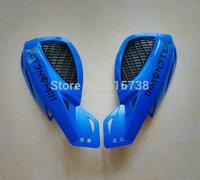"""BLUE 7/8"""" Dirt Bike Dirtbike ATV Motorcycle Brush Bar Hand Guards Handguard  For Honda Yamah Suzuki"""