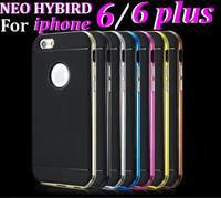 """200pcs/lot* Bumblebee SGP SPIGEN Neo Hybrid Case Series TPU Case Cover For iphone 6 6 plus 4.7""""  5.5"""" optional"""