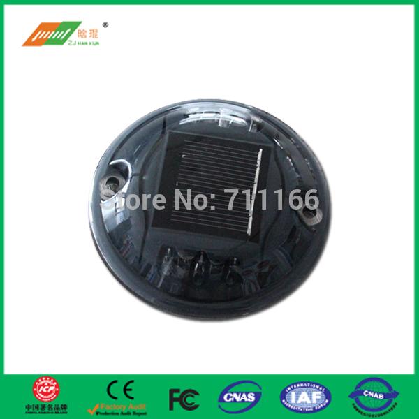 highway warning light solar power PC road stud(China (Mainland))