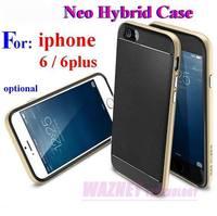 """600pcs/lot* Bumblebee SGP SPIGEN Neo Hybrid Case  TPU Plastic Case Cover For iphone 6 6 plus 4.7""""  5.5"""" optional"""