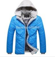 HOT SALE 2014 Winter men's clothes down jacket coat,men's outdoors sports thick warm parka coats  jackets  man Coats Jackets