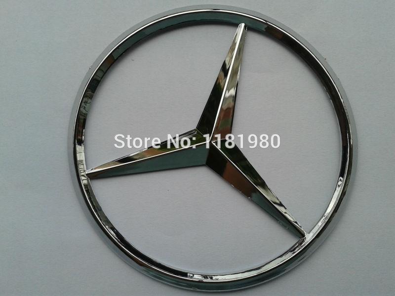MERCEDES BENZ REAR CAR LOGO BADGE EMBLEM - 9CM -FREE POSTAGE(China (Mainland))