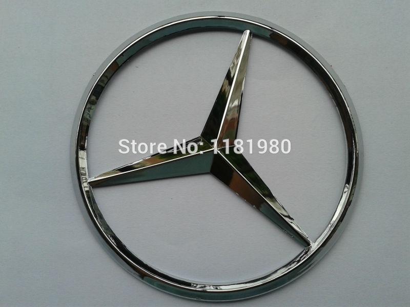 Mercedes BENZ задние автомобиль логотип эмблема значок - 9 см - бесплатная доставкак