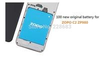ZOPO C2 battery 100% new original 2000mAh for zopo c2 zp980 original battery high quality high capacity zp c2 c3 battery