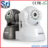 Sricam Wireless 2Way Audio Pan Tilt Wifi Mini Sricam AP001 P2P IP Camerad Pan-tilt P2P Support iPhone and Andriod smart phone