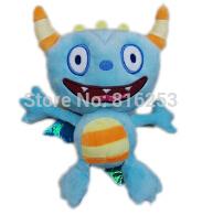 wholesale 15pcs/lot 2014 Newest Cartoon Movie Plush Toys 22CM=8.6inch Henry Hugglemonster Plush Toys Henry Plush Toys Monster