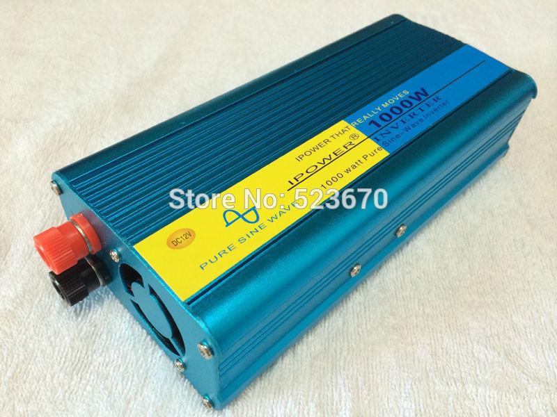 1000W 1000AV 1KW Pure Sine Wave Power Inverter DC 12v AC 210v 220V 230v 240V freezer(China (Mainland))