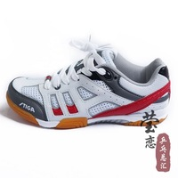 Hot sale Large Sizes stiga sports table tennis sneakers red ping pong Breathable shoes Unisex !