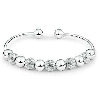 925 серебро леди милый мяч браслет цепь, Браслеты ювелирные изделия SZ004