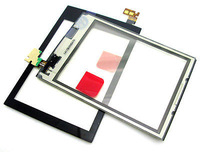New Black digitizer touch screen glass lens panel for Nokia ASHA 300 300 free shipping