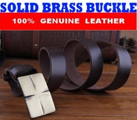 First Layer Genuine Leather Brand Belts For Men Casual Vintage Buckle Mens Belt Cinto Masculino Ceinture Man Cintos MBT0237
