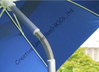 2m diameter beach fishing umbrella,anti-rust,aluminum muti-function beach umbrella, fiberglass long ribs,double layer,windproof