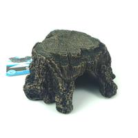 "Aquarium fish tank Decoration Ornament  resin Driftwood Tree Hiding Cave 5.2"" -Terrapin Turtle Platform"