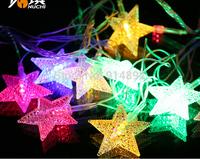 free shipping 20 LED Colored lights / Christmas tree decorative light string lights / holiday decoration lights 50g DIY
