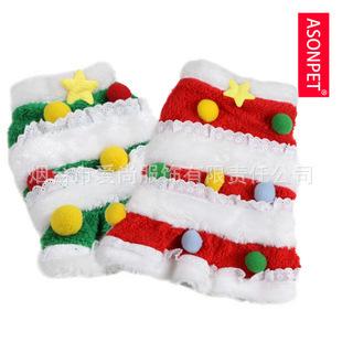 Asonpet мелких животных одежда для собак зимняя одежда зимняя тай Diji куклы оказалось прекрасный рождественская елка