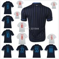 14/15 ICARDI KOVACIC PALACIO home away soccer jersey HERNANES 2015 best 3A+++ thai quality football uniforms embroidery logo