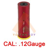 12Gauge Catridge Red Laser Bore Sighter CAL: .12Gauge Laser Boresight Red Hunting .12Gauge Laser Red Dot