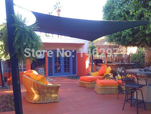 3 4m rechteck wasserdicht schatten tuch sonnensegel schatten bogen d ring design oder. Black Bedroom Furniture Sets. Home Design Ideas
