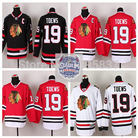 #19 Stadium Series Ice Hockey Jersey 2015 61 men s hockey jersey